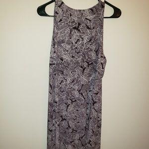 Athleta Santorini high neck print dress